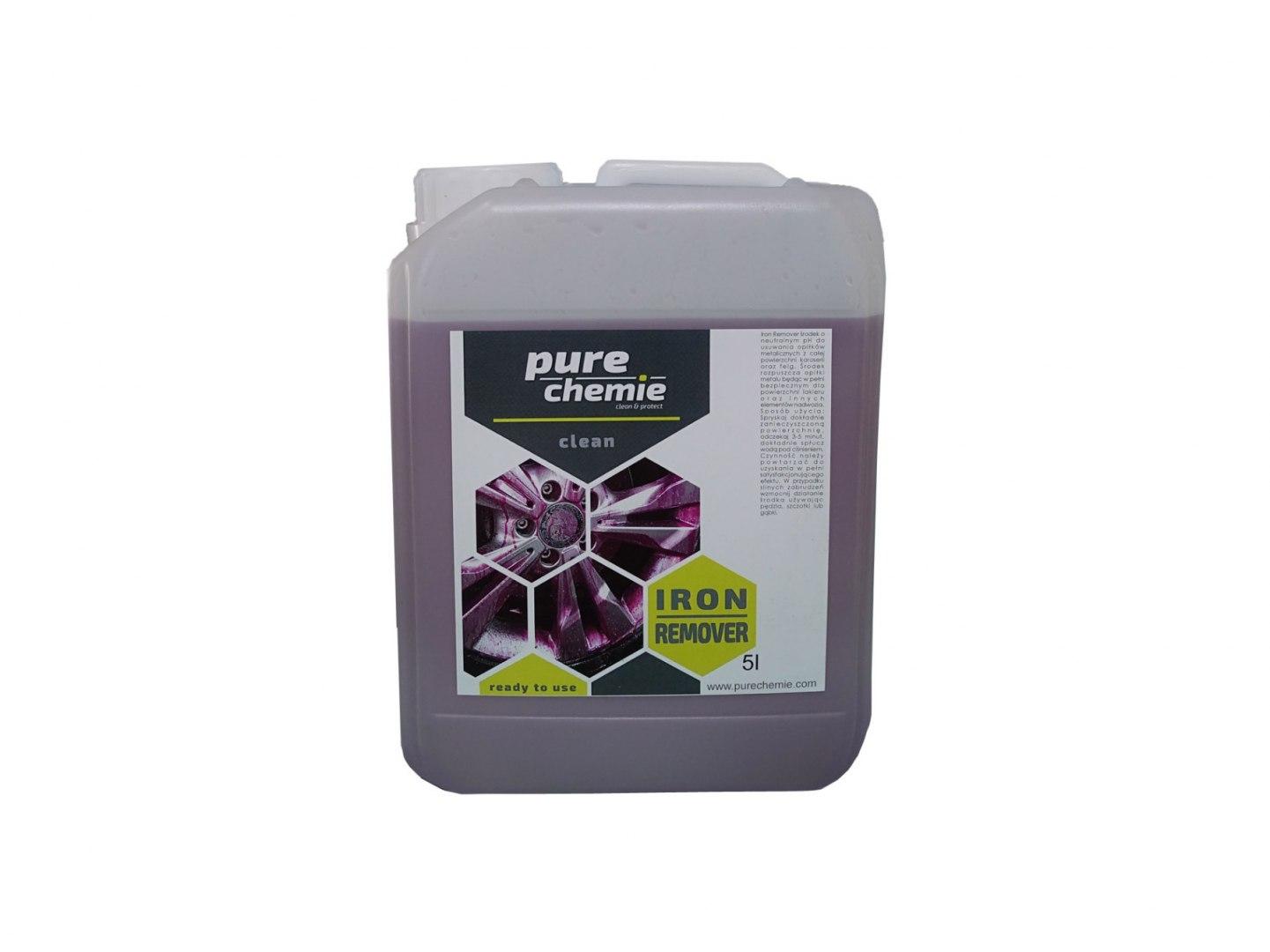 Pure Chemie Iron Remover 5L (Deironizer) - GRUBYGARAGE - Sklep Tuningowy